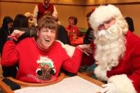 Lori and Santa